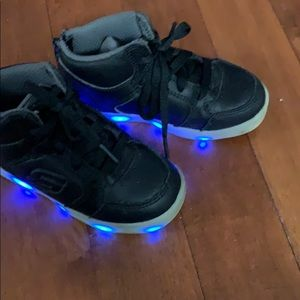 Toddler light up sketchers